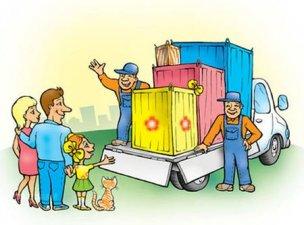 Как организовать грузоперевозки при переезде с детьми без головной