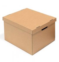 Производство картонных коробок для переезда, доставка по СПб